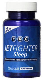 JetFighter Sleep Jet Lag Supplement Review